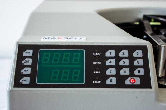 MX 600 HD HS Desktop Bundle Note Counter