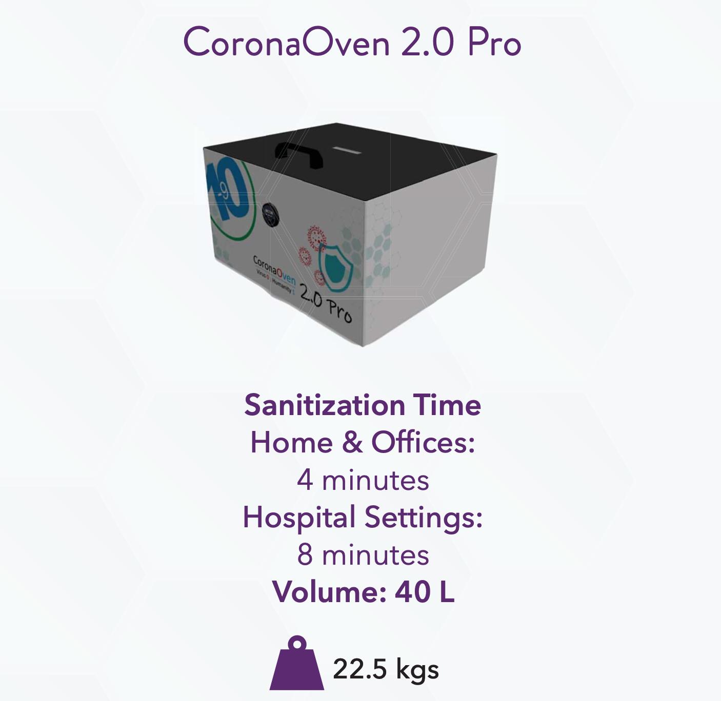 Corona Oven 40 Liters